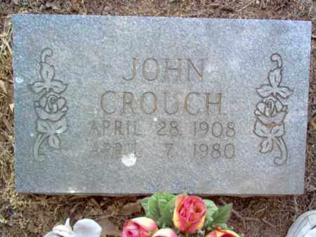 CROUCH, JOHN - Jackson County, Arkansas   JOHN CROUCH - Arkansas Gravestone Photos