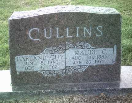 CULLINS, GARLAND GUY - Jackson County, Arkansas | GARLAND GUY CULLINS - Arkansas Gravestone Photos