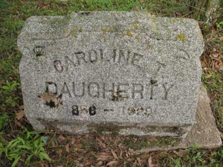 DAUGHERTY, CAROLINE T - Jackson County, Arkansas | CAROLINE T DAUGHERTY - Arkansas Gravestone Photos