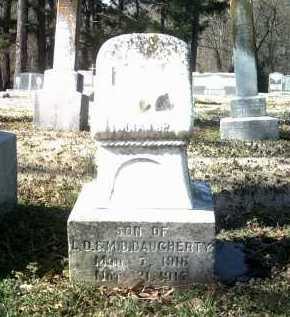 DAUGHERTY, JR, LUCIAN DAY - Jackson County, Arkansas   LUCIAN DAY DAUGHERTY, JR - Arkansas Gravestone Photos