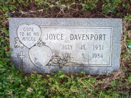 DAVENPORT, JOYCE - Jackson County, Arkansas | JOYCE DAVENPORT - Arkansas Gravestone Photos