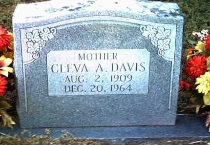 DAVIS, CLEVA A - Jackson County, Arkansas | CLEVA A DAVIS - Arkansas Gravestone Photos