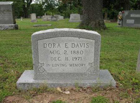 DAVIS, DORA E - Jackson County, Arkansas | DORA E DAVIS - Arkansas Gravestone Photos