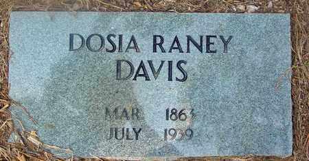 DAVIS, DOSIA - Jackson County, Arkansas   DOSIA DAVIS - Arkansas Gravestone Photos
