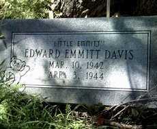 "DAVIS, EDWARD EMMITT ""LITTLE EMMITT"" - Jackson County, Arkansas | EDWARD EMMITT ""LITTLE EMMITT"" DAVIS - Arkansas Gravestone Photos"