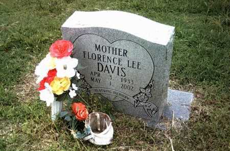 DAVIS, FLORENCE LEE - Jackson County, Arkansas | FLORENCE LEE DAVIS - Arkansas Gravestone Photos