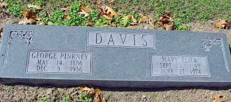 DAVIS, GEORGE PINKNEY - Jackson County, Arkansas | GEORGE PINKNEY DAVIS - Arkansas Gravestone Photos