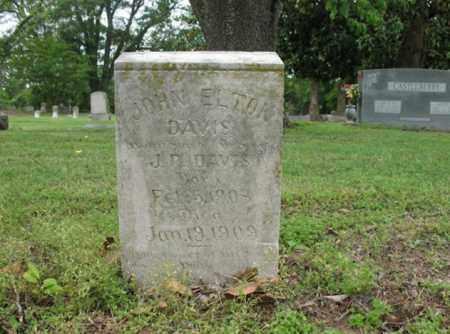 DAVIS, JOHN ELTON - Jackson County, Arkansas | JOHN ELTON DAVIS - Arkansas Gravestone Photos