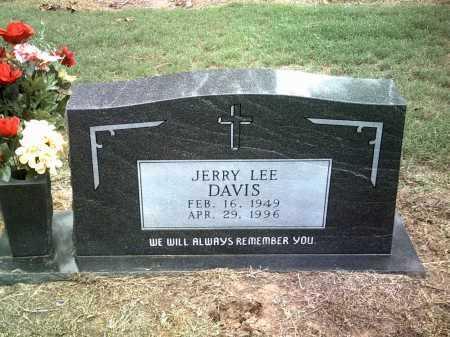 DAVIS, JERRY LEE - Jackson County, Arkansas | JERRY LEE DAVIS - Arkansas Gravestone Photos