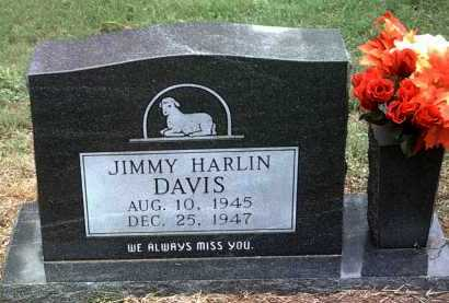 DAVIS, JIMMY HARLIN - Jackson County, Arkansas | JIMMY HARLIN DAVIS - Arkansas Gravestone Photos