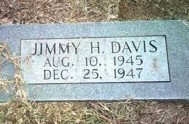 DAVIS, JIMMY H - Jackson County, Arkansas | JIMMY H DAVIS - Arkansas Gravestone Photos