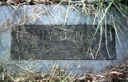 DAVIS, JOHN D - Jackson County, Arkansas | JOHN D DAVIS - Arkansas Gravestone Photos