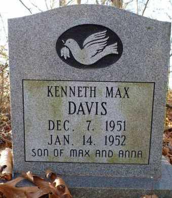 DAVIS, KENNETH MAX - Jackson County, Arkansas | KENNETH MAX DAVIS - Arkansas Gravestone Photos