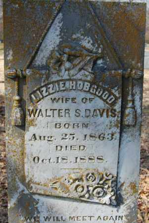 DAVIS , LIZZIE (CLOSEUP) - Jackson County, Arkansas   LIZZIE (CLOSEUP) DAVIS  - Arkansas Gravestone Photos