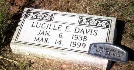 DAVIS, LUCILLE E - Jackson County, Arkansas | LUCILLE E DAVIS - Arkansas Gravestone Photos