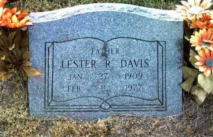 DAVIS, LESTER R - Jackson County, Arkansas | LESTER R DAVIS - Arkansas Gravestone Photos