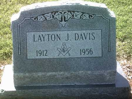 DAVIS, LAYTON J - Jackson County, Arkansas | LAYTON J DAVIS - Arkansas Gravestone Photos