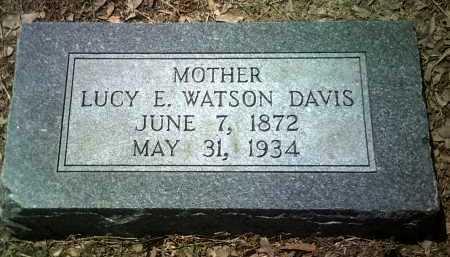 DAVIS, LUCY E - Jackson County, Arkansas | LUCY E DAVIS - Arkansas Gravestone Photos