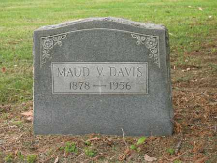 DAVIS, MAUD V - Jackson County, Arkansas | MAUD V DAVIS - Arkansas Gravestone Photos