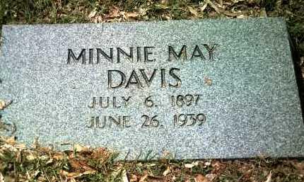 DAVIS, MINNIE MAY - Jackson County, Arkansas   MINNIE MAY DAVIS - Arkansas Gravestone Photos