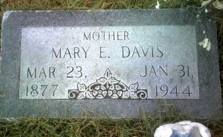 DAVIS, MARY E - Jackson County, Arkansas | MARY E DAVIS - Arkansas Gravestone Photos