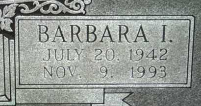 DAVIS , BARBARA I (CLOSEUP) - Jackson County, Arkansas | BARBARA I (CLOSEUP) DAVIS  - Arkansas Gravestone Photos
