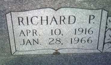 DAVIS , RICHARD P (CLOSEUP) - Jackson County, Arkansas | RICHARD P (CLOSEUP) DAVIS  - Arkansas Gravestone Photos