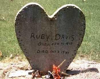 DAVIS, RUBY - Jackson County, Arkansas   RUBY DAVIS - Arkansas Gravestone Photos