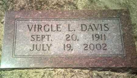 DAVIS, VIRGLE L - Jackson County, Arkansas   VIRGLE L DAVIS - Arkansas Gravestone Photos