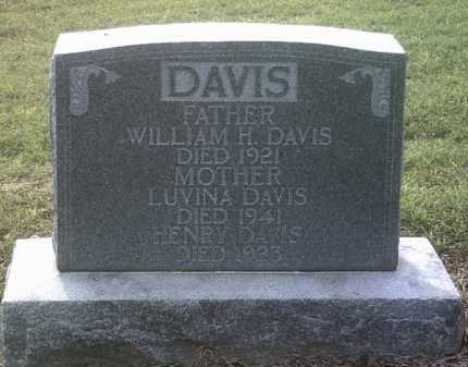 DAVIS, WILLIAM H - Jackson County, Arkansas | WILLIAM H DAVIS - Arkansas Gravestone Photos