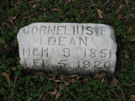 DEAN, CORNELIUS F - Jackson County, Arkansas | CORNELIUS F DEAN - Arkansas Gravestone Photos