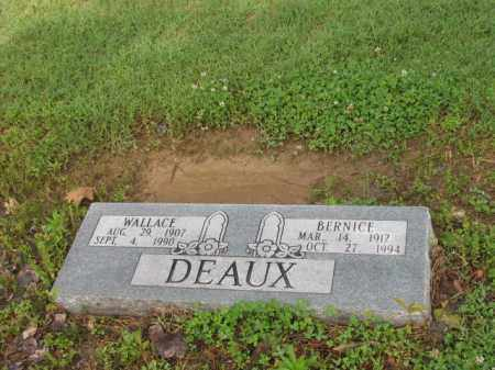 DEAUX, BERNICE - Jackson County, Arkansas   BERNICE DEAUX - Arkansas Gravestone Photos
