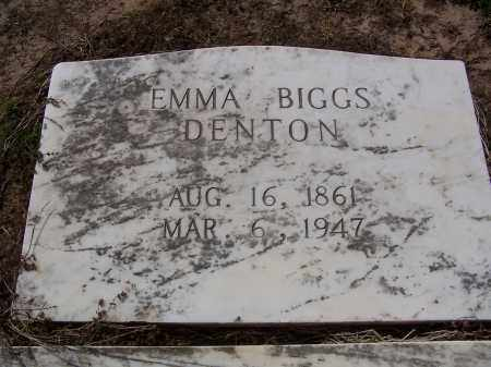 DENTON, EMMA - Jackson County, Arkansas | EMMA DENTON - Arkansas Gravestone Photos