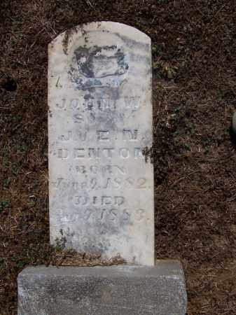 DENTON, JOHN  W - Jackson County, Arkansas | JOHN  W DENTON - Arkansas Gravestone Photos