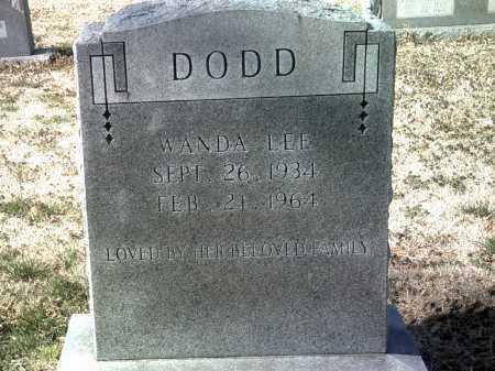 DODD, WANDA LEE - Jackson County, Arkansas | WANDA LEE DODD - Arkansas Gravestone Photos