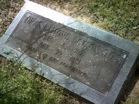 DOTSON, ORAS LAMOND - Jackson County, Arkansas | ORAS LAMOND DOTSON - Arkansas Gravestone Photos