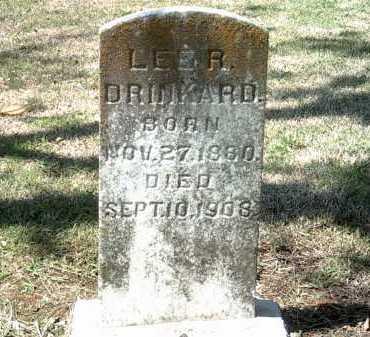 DRINKARD, LEE A - Jackson County, Arkansas | LEE A DRINKARD - Arkansas Gravestone Photos
