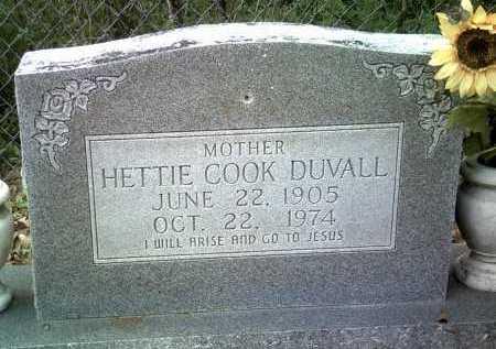 DUVALL, HETTIE - Jackson County, Arkansas | HETTIE DUVALL - Arkansas Gravestone Photos