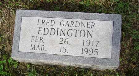 EDDINGTON (PIC2), FRED GARDNER - Jackson County, Arkansas   FRED GARDNER EDDINGTON (PIC2) - Arkansas Gravestone Photos