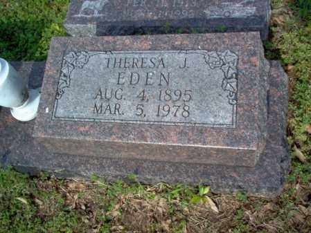 EDEN, THERESA J - Jackson County, Arkansas | THERESA J EDEN - Arkansas Gravestone Photos