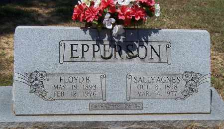 EPPERSON, SALLY AGNES - Jackson County, Arkansas | SALLY AGNES EPPERSON - Arkansas Gravestone Photos