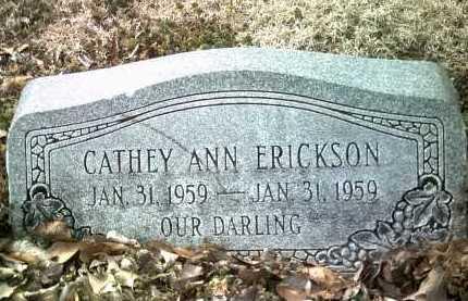 ERICKSON, CATHEY ANN - Jackson County, Arkansas | CATHEY ANN ERICKSON - Arkansas Gravestone Photos