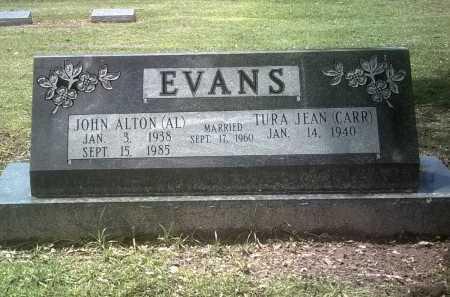 """EVANS, JOHN ALTON """"AL"""" - Jackson County, Arkansas   JOHN ALTON """"AL"""" EVANS - Arkansas Gravestone Photos"""