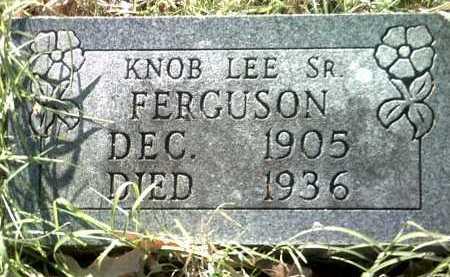 FERGUSON, SR, KNOB LEE - Jackson County, Arkansas | KNOB LEE FERGUSON, SR - Arkansas Gravestone Photos