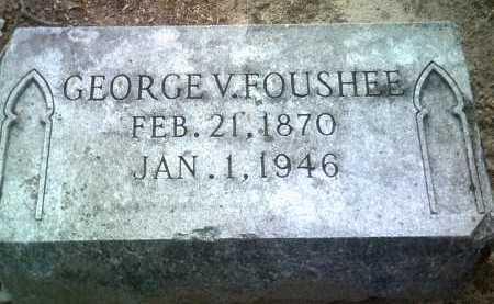 FOUSHEE, GEORGE V - Jackson County, Arkansas | GEORGE V FOUSHEE - Arkansas Gravestone Photos