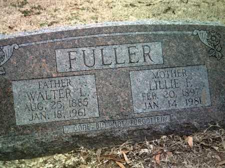 FULLER, LILLIE F - Jackson County, Arkansas | LILLIE F FULLER - Arkansas Gravestone Photos
