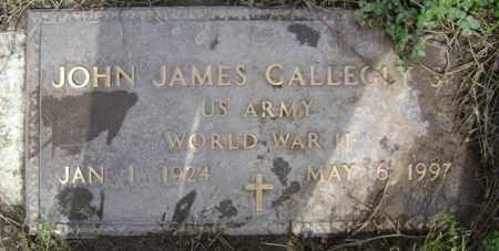 GALLEGLY (VETERAN WWII), JOHN JAMES - Jackson County, Arkansas | JOHN JAMES GALLEGLY (VETERAN WWII) - Arkansas Gravestone Photos