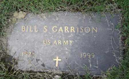 "GARRISON (VETERAN), W S  ""BILL"" - Jackson County, Arkansas 