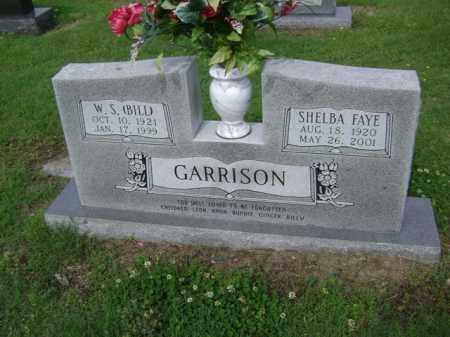 "GARRISON, W S  ""BILL"" - Jackson County, Arkansas | W S  ""BILL"" GARRISON - Arkansas Gravestone Photos"