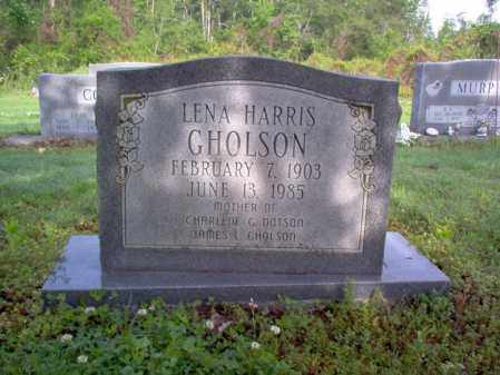 GHOLSON, LENA - Jackson County, Arkansas | LENA GHOLSON - Arkansas Gravestone Photos